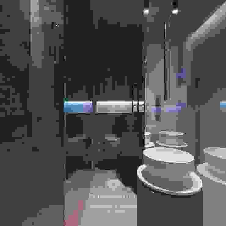 Студия дизайна интерьера Руслана и Марии Грин Baños de estilo ecléctico
