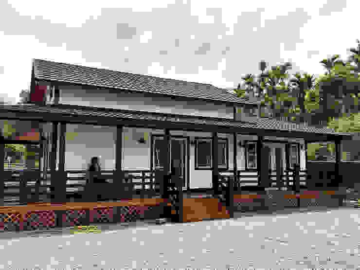 南投鹿谷-張公館 根據 居林木構建築|木屋設計|木屋建造|木屋保養|整體規劃設計營建 日式風、東方風 木頭 Wood effect