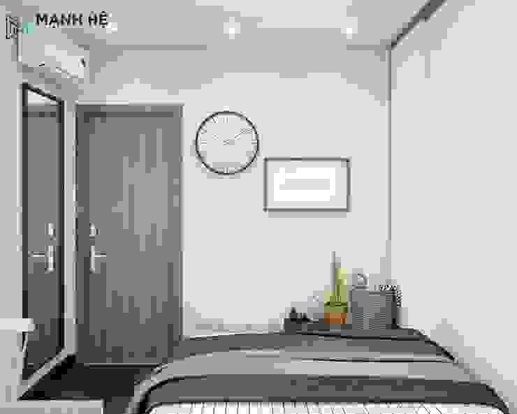 phòng ngủ đơn giản: hiện đại  by Công ty TNHH Nội Thất Mạnh Hệ, Hiện đại