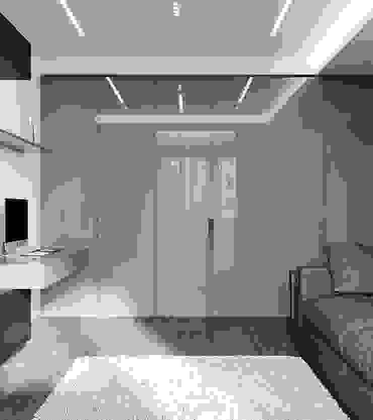 ANDO Ruang Studi/Kantor Modern