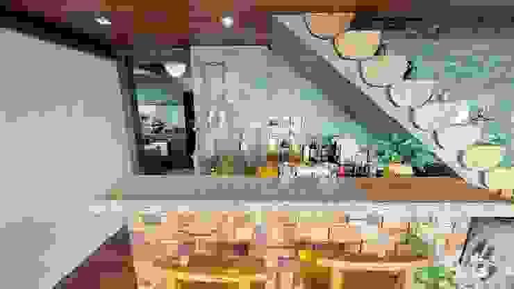 石柜,實木吧枱,樓梯 根據 FNW(全港)一站式裝修材料 隨意取材風
