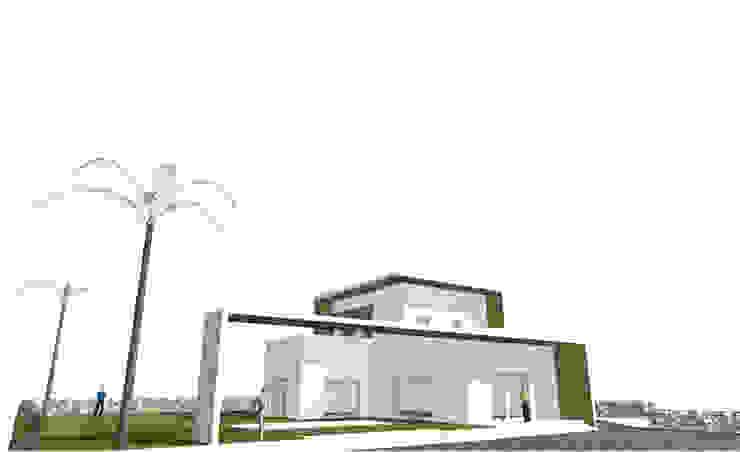 Ingresso di antonio felicetti architettura & interior design Minimalista