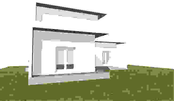 Pensiline di antonio felicetti architettura & interior design Minimalista