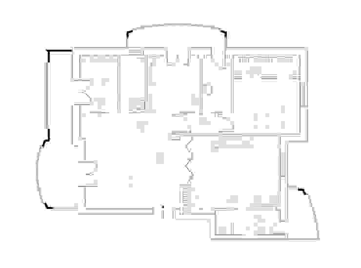 Pianta stato progetto di antonio felicetti architettura & interior design Moderno