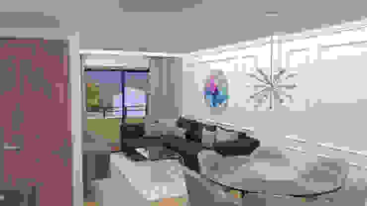 Salón-Comedor_2 Salones de estilo moderno de Rediarq Interiorismo Moderno