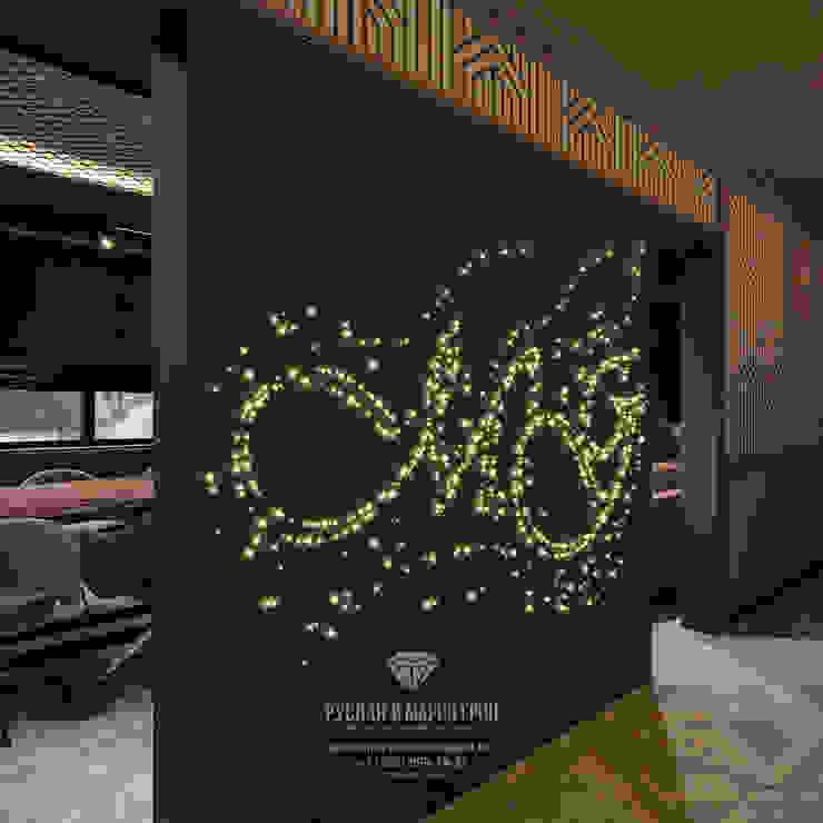 Студия дизайна интерьера Руслана и Марии Грин Oficinas y bibliotecas de estilo ecléctico