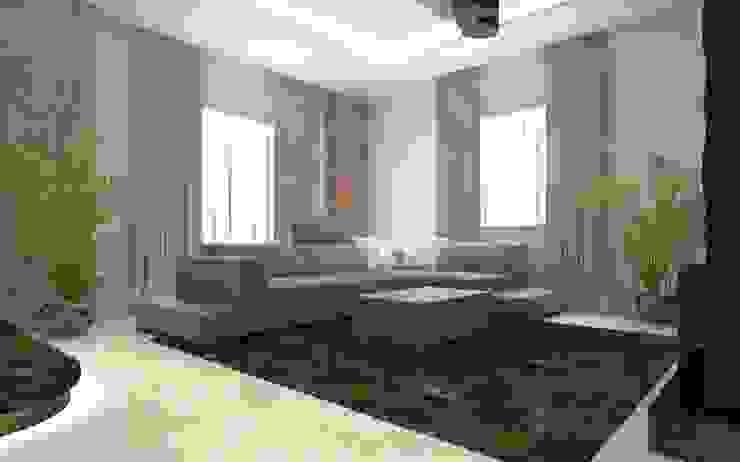 تصميم  داخلي لشقة وتصميم مطبخ فاخر ومودرن: حديث  تنفيذ ArchiSton, حداثي