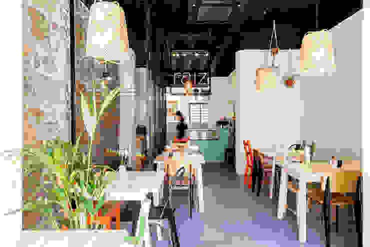 Qiarq . arquitectura+design Mediterranean style gastronomy Wood Multicolored