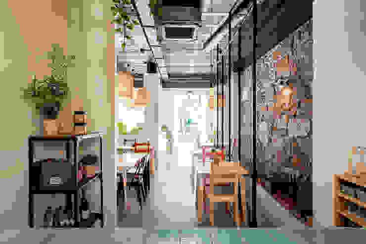 Qiarq . arquitectura+design Mediterranean style gastronomy Granite Beige