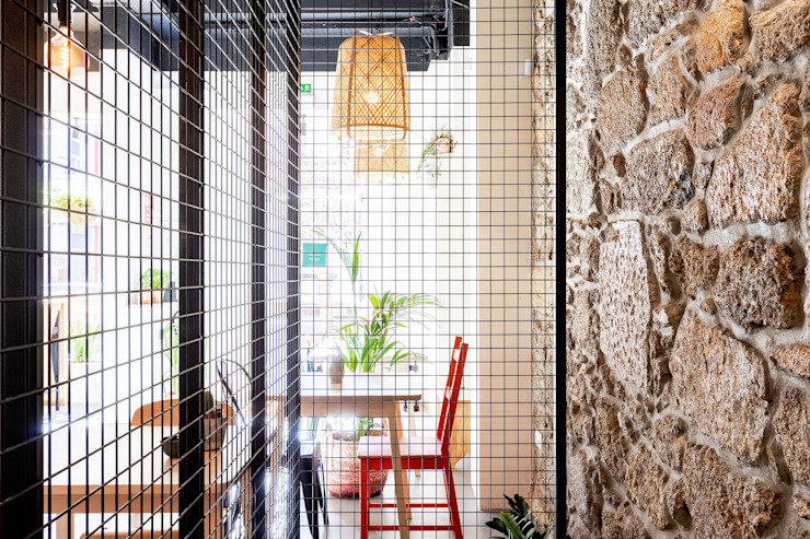 Qiarq . arquitectura+design Industrial style gastronomy Iron/Steel Black
