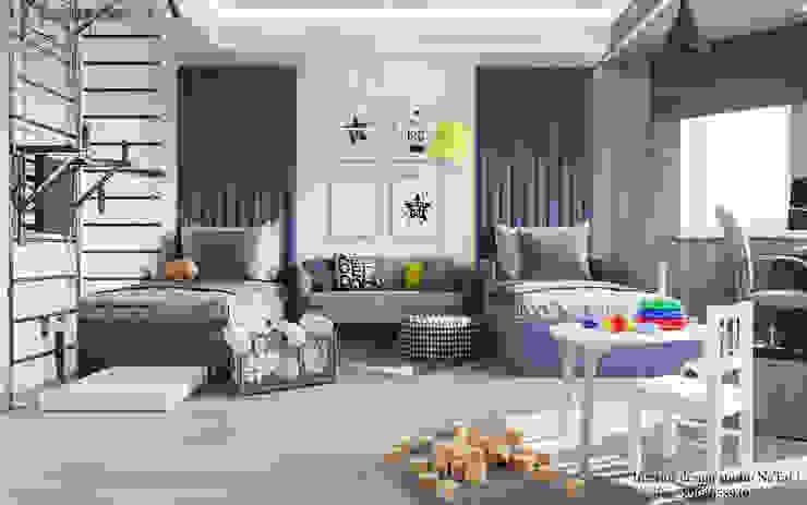 Дизайн интерьера комнаты для подростков Студия дизайна Натали Детская комната в стиле модерн