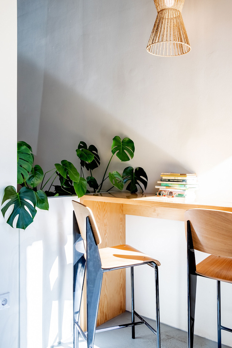 Qiarq . arquitectura+design Mediterranean style gastronomy Wood Wood effect
