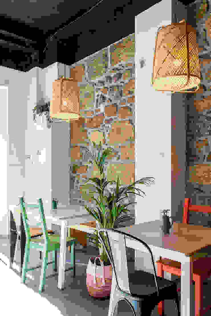 Qiarq . arquitectura+design Mediterranean style gastronomy Bamboo Beige