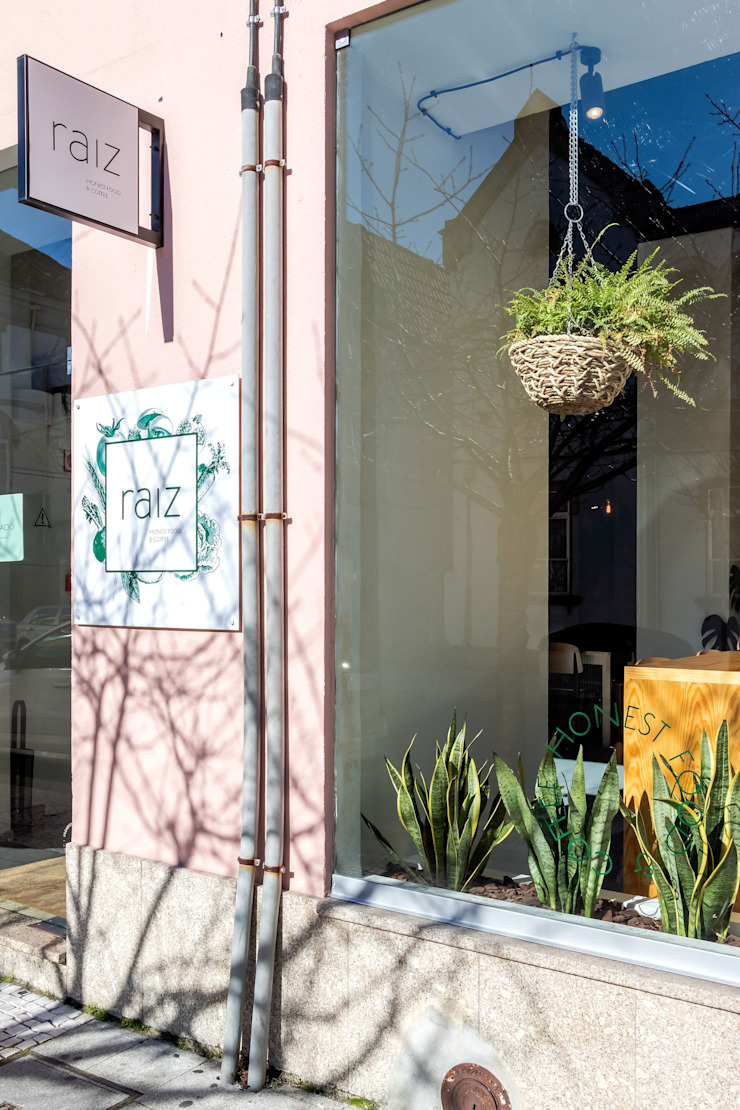Qiarq . arquitectura+design Mediterranean style gastronomy Glass Green