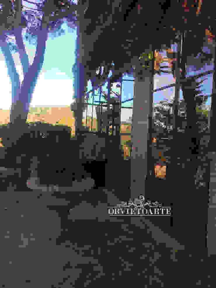 Orvieto Arte Industrial style garden