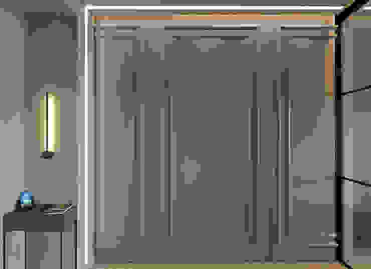 Wardrobe De Panache Modern corridor, hallway & stairs Plywood Beige