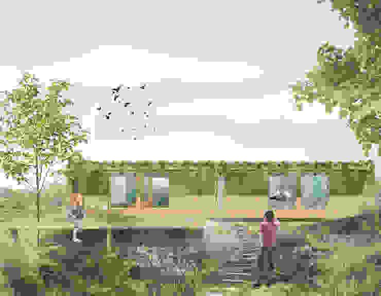 Casa Modular 02 por Diego Viana - Floc.o Design Inteligente Campestre de madeira e plástico