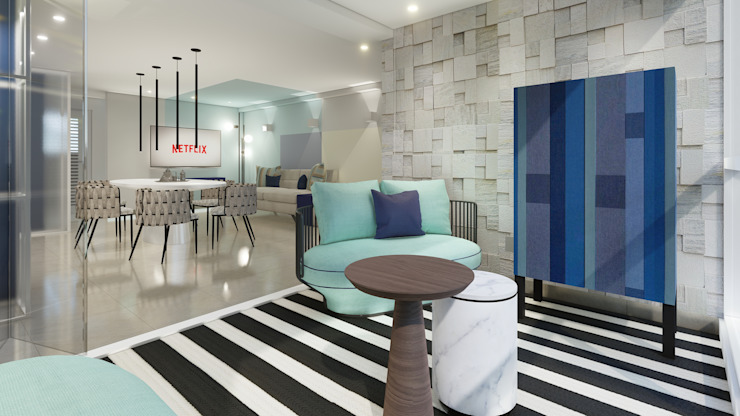 Proyecto apartamento de playa PHG de Arq Renny Molina