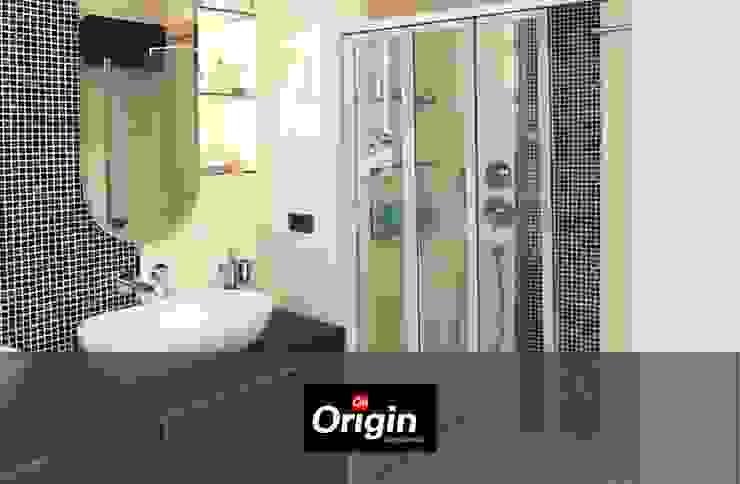 Origin Aluminium Shower Door Information Modern bathroom by Origin Aluminium Group Holdings (Pty) Ltd Modern Aluminium/Zinc