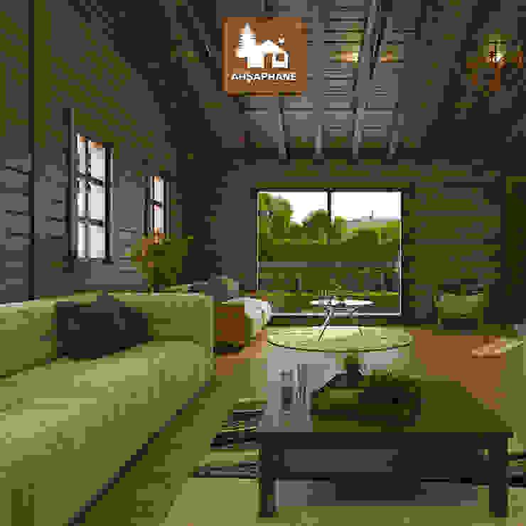 by Ahşaphane Rustic Wood Wood effect