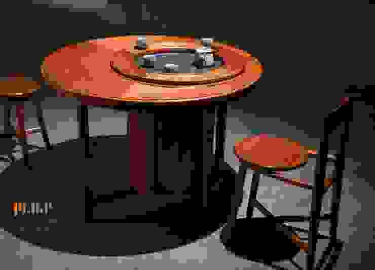 茶桌 : 亞洲  by 青築設計, 日式風、東方風 實木 Multicolored