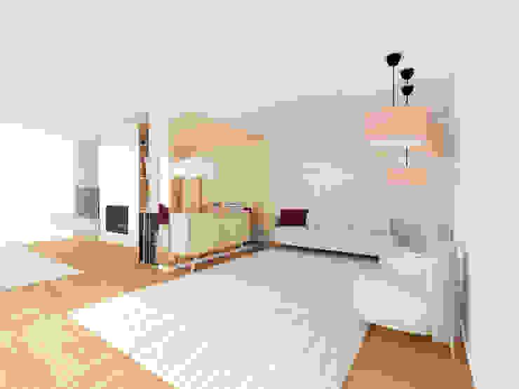 MIA arquitetos Modern living room