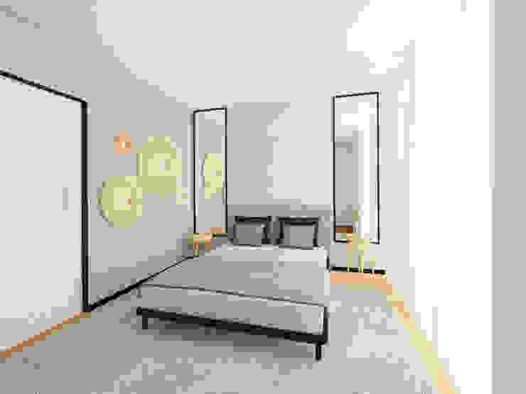 MIA arquitetos Modern style bedroom