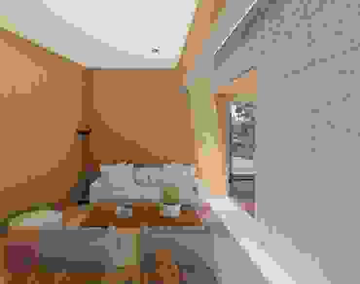 Salón luz Casas modernas de Cóncavas Ingenieros y Arquitectos Moderno
