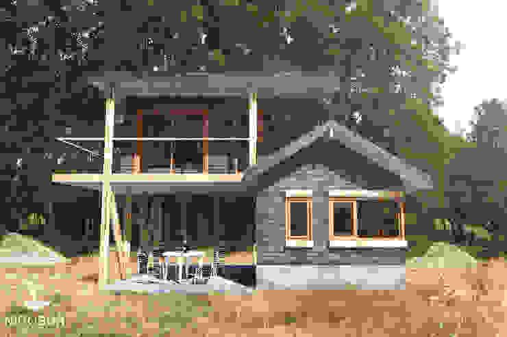 Refugio Chan Chan NidoSur Arquitectos - Valdivia Casas de madera