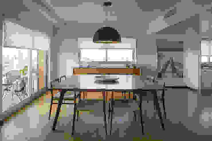 Obra GTM LOB arquitectura Comedores modernos Acabado en madera