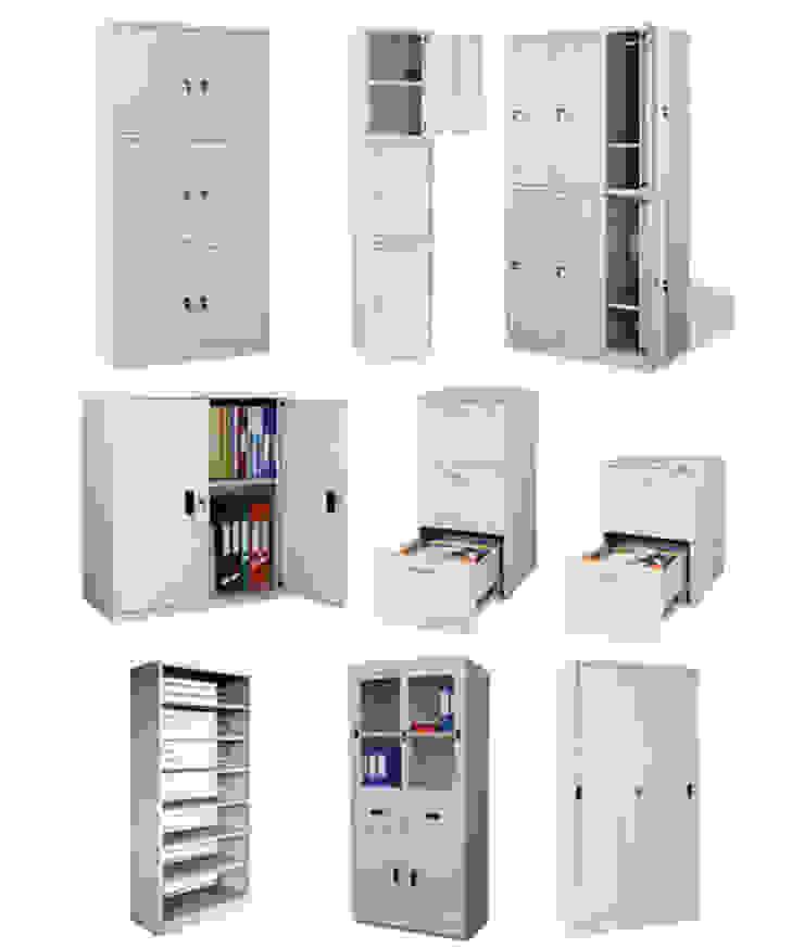 Tủ sắt văn phòng: hiện đại  by NoithatVp, Hiện đại Sắt / thép