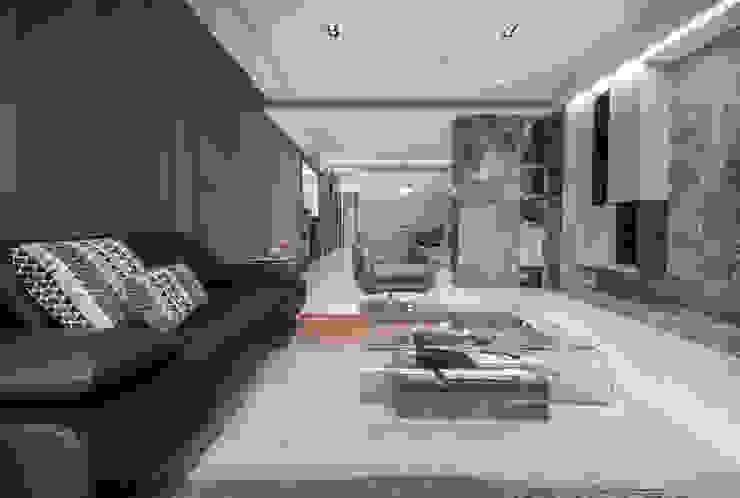 客廳 现代客厅設計點子、靈感 & 圖片 根據 大也設計工程有限公司 Dal DesignGroup 現代風