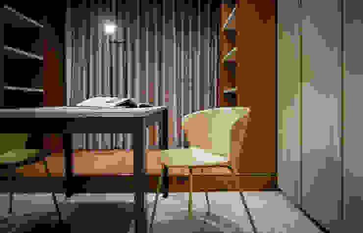 書房 根據 大也設計工程有限公司 Dal DesignGroup 現代風