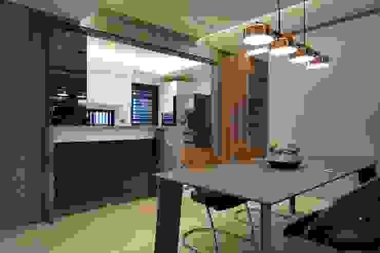 餐廳與廚房 根據 大也設計工程有限公司 Dal DesignGroup 現代風