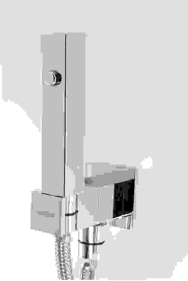 ARVAG SRL Kamar Mandi Modern Perunggu Metallic/Silver