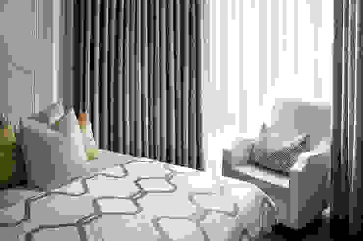 Riverside Refurbishment Celine Interior Design Kamar tidur kecil
