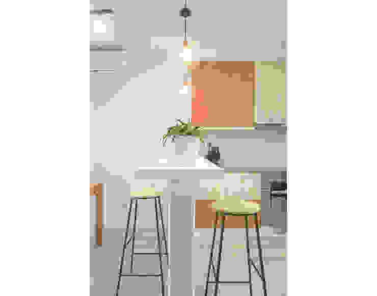 Estudi a l'Àtic Kitchen Tiles Wood effect