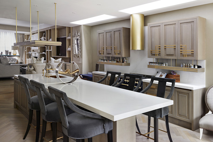 Chiddingstone, Fulham Celine Interior Design Кухня