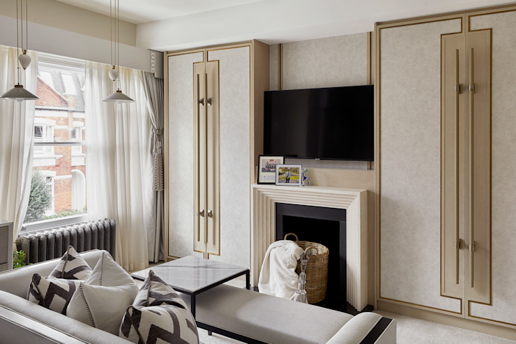 Chiddingstone, Fulham Celine Interior Design Classic style bedroom
