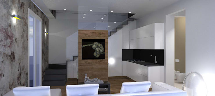 casa in Toscana Cucina moderna di Interior Design Stefano Bergami Moderno