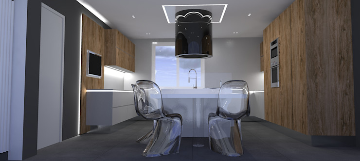Interior Design Stefano Bergami Kitchen