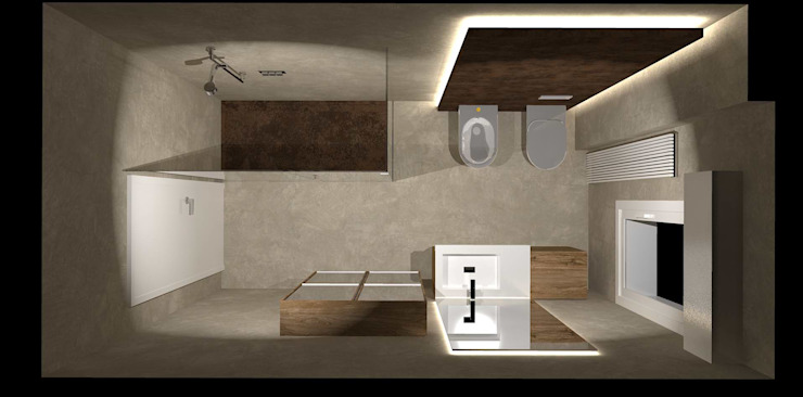 Interior Design Stefano Bergami Modern bathroom