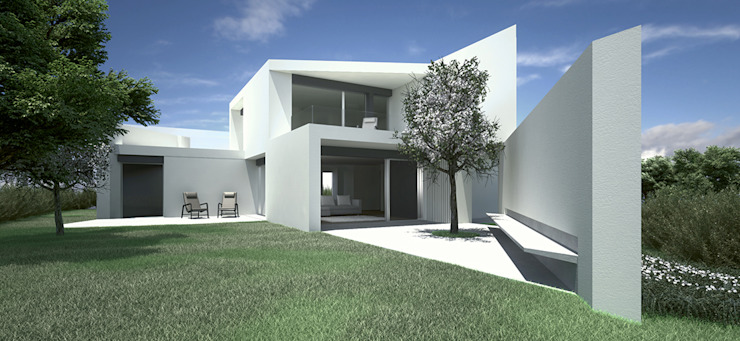 Casa em Sagres por Lines & Narratives Minimalista