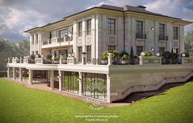 Дизайн-студия элитных интерьеров Анжелики Прудниковой Будинки