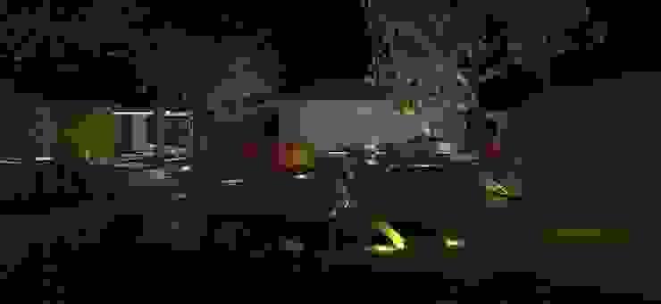 emotional garden Giardino in stile rustico di Interior Design Stefano Bergami Rustico