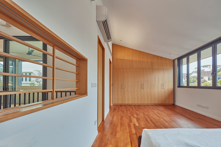 House at Sembawang Atelier M+A Modern style bedroom