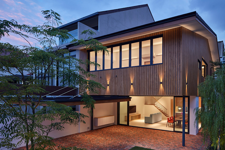 House at Sembawang Atelier M+A Modern houses