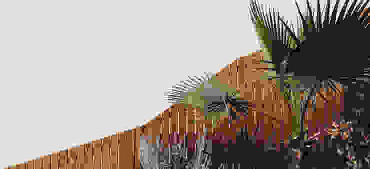 Simbiosi Estudi สวนรั้วและกำแพง