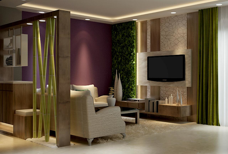 3 BHK project at Park Circus by Itzin World Designs Modern