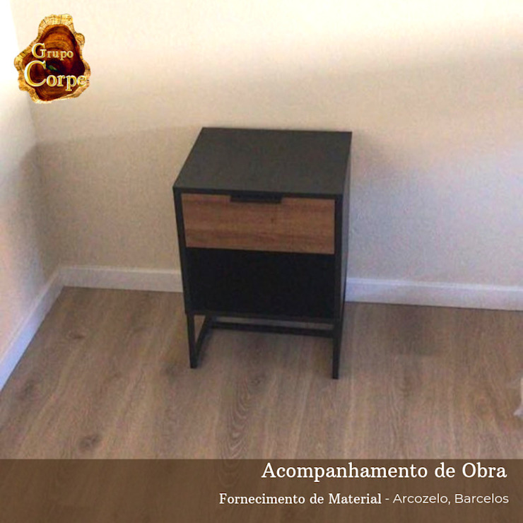 Grupo Corpe® Small bedroom